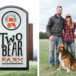A behind-the-scenes glimpse of Todd, Rebecca and their dog Silo from the Two Bear organic farm in Whitefish, Montana. Photography by Mandy Mohler, The OCD Photographer.
